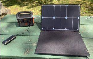 Jackery SolarSaga 60W Solar Panel for Explorer Review