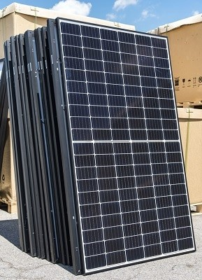 solar panel generated electricity to power your appliances?